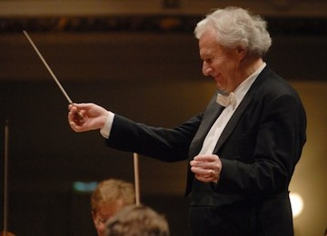 Sir Colin Davis, conductor