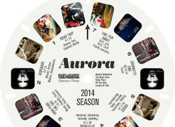 Aurora's viewmaster brochure